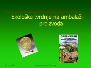 Ekološke tvrdnje na ambalaži proizvoda