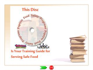Is Your Training Guide for Serving Safe Food
