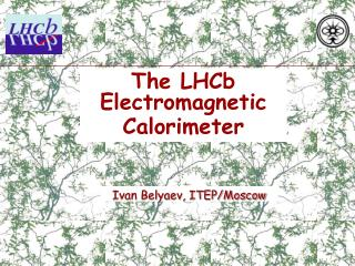 The LHCb Electromagnetic Calorimeter