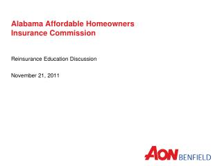 Alabama Affordable Homeowners  Insurance Commission