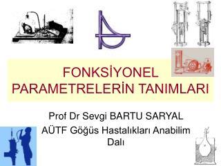 FONKSİYONEL PARAMETRELERİN TANIMLARI