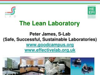 The Lean Laboratory