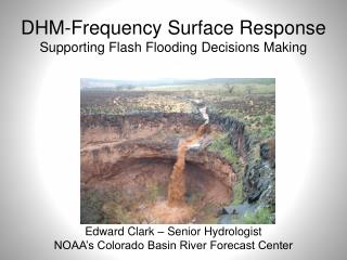 DHM-Frequency Surface Response  Supporting Flash Flooding Decisions Making
