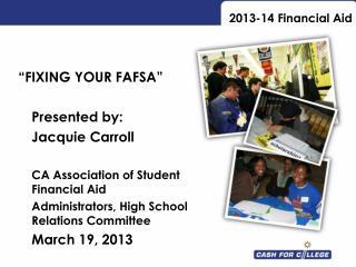 2013-14 Financial Aid
