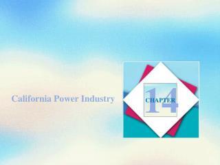 California Power Industry