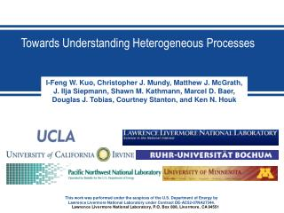 Towards Understanding Heterogeneous Processes