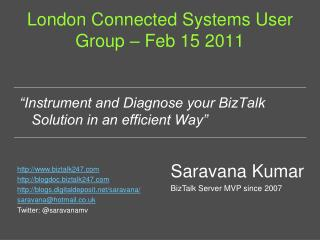 London Connected Systems User Group – Feb 15 2011