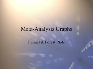 Meta-Analysis Graphs