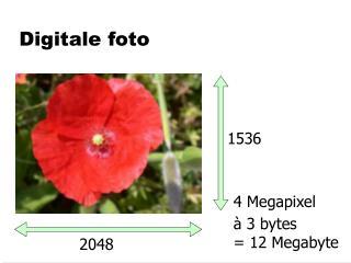 Digitale foto