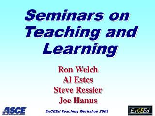 Seminars on Teaching and Learning