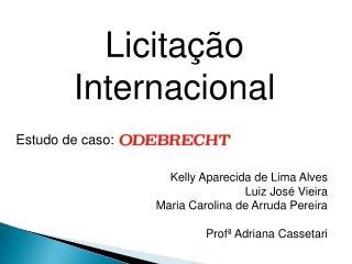 Licitação Internacional