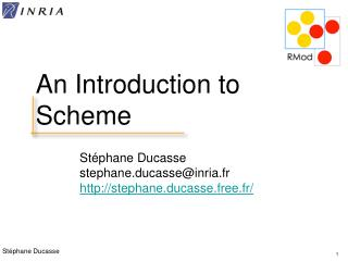 An Introduction to Scheme