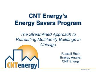 CNT Energy's Energy Savers Program