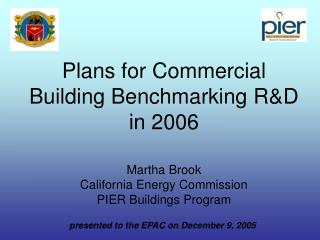 presented to the EPAC on December 9, 2005