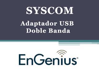 Adaptador USB  Doble Banda