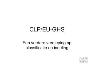 CLP/EU-GHS