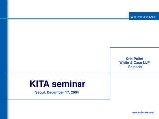 KITA seminar