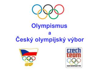 a Český olympijský výbor