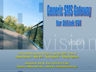 Generic SMS Gateway