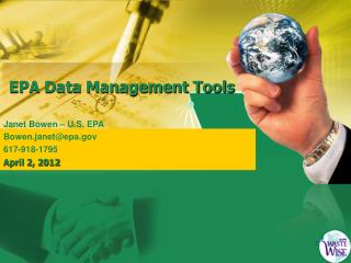 EPA  Data Management Tools