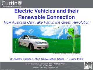 Dr Andrew Simpson, ASDI Conversation Series – 10 June 2009