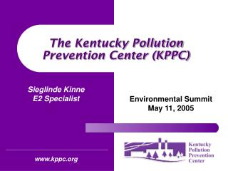 The Kentucky Pollution Prevention Center (KPPC)