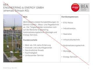 Kernkompetenzen EVU-Netze Industrienetze Gasnetze Infrastrukturtechnik Automatisierungstechnik