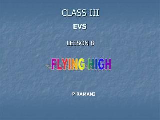 CLASS III