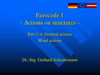 Eurocode 1  - Actions on structures -