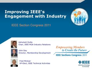 Improving IEEE's Engagement with Industry