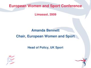 European Women and Sport Conference Limassol, 2009