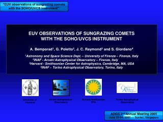 EUV OBSERVATIONS OF SUNGRAZING COMETS  WITH THE SOHO/UVCS INSTRUMENT