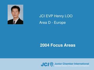 JCI EVP Henry LOO Area D - Europe