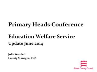 Primary Heads Conference