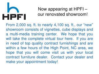 HPFI Showroom Renovation