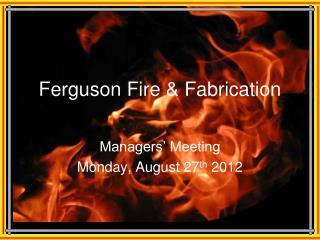 Ferguson Fire & Fabrication