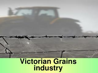 Victorian Grains industry