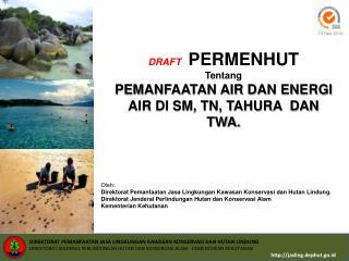 Oleh:  Direktorat Pemanfaatan Jasa Lingkungan Kawasan Konservasi dan Hutan Lindung.