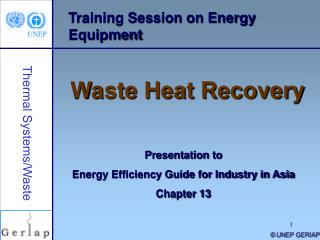 Training Session on Energy Equipment