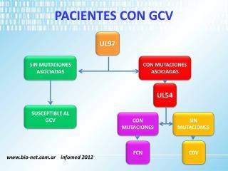 PACIENTES  CON GCV