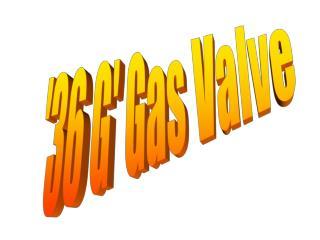 36 G Gas Valve