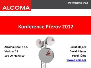 Konference Přerov 2012
