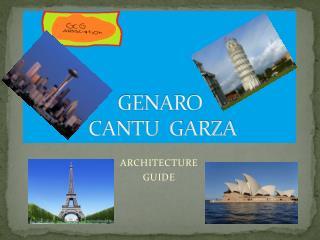 GENARO  CANTU  GARZA