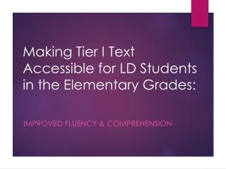 Professional Development  for Teachers of Reading