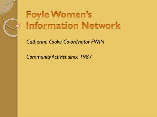 Foyle Women�s  Information Network