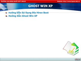 GHOST WIN XP