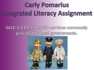 Carly Pomarius Integrated Literacy Assignment