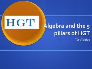 Algebra and the 5 pillars of HGT