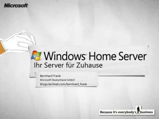 Ihr Server für Zuhause