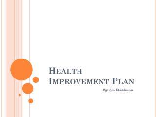 Health Improvement Plan